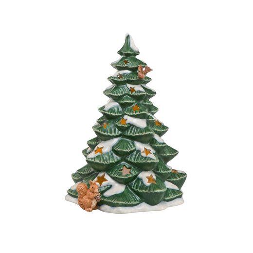 Goebel Weihnachtsfigur »Teelichthalter Winterwald Verschneiter Lichterbaum«