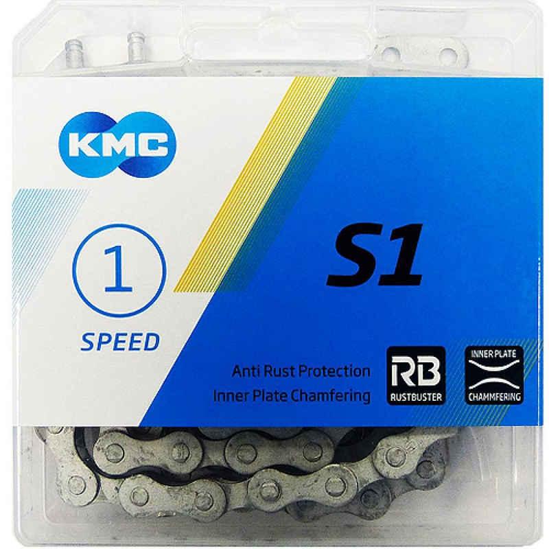 KMC Fahrradkette »Kette KMC S1 Wide RB 1/2 x 1/8, 112 Glieder, 8,6 m«