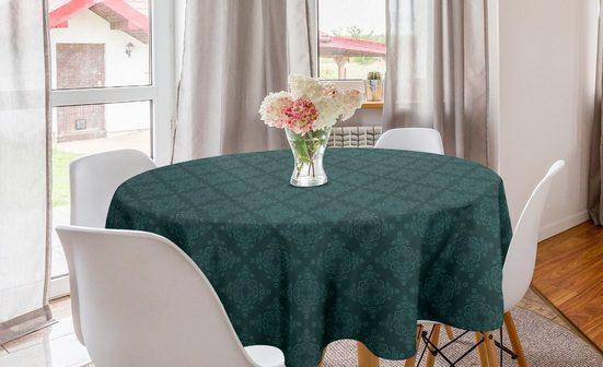 Abakuhaus Tischdecke »Kreis Tischdecke Abdeckung für Esszimmer Küche Dekoration«, Damast Klassische Wirbler Oriental Art