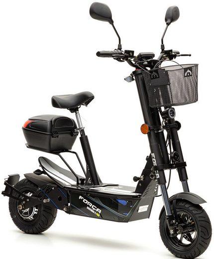 Forca E-Scooter »Bossman 2100 Safety 45 km/h (inkl. Blinker + Gepcäck-Case)«, 2100 W, 45 km/h