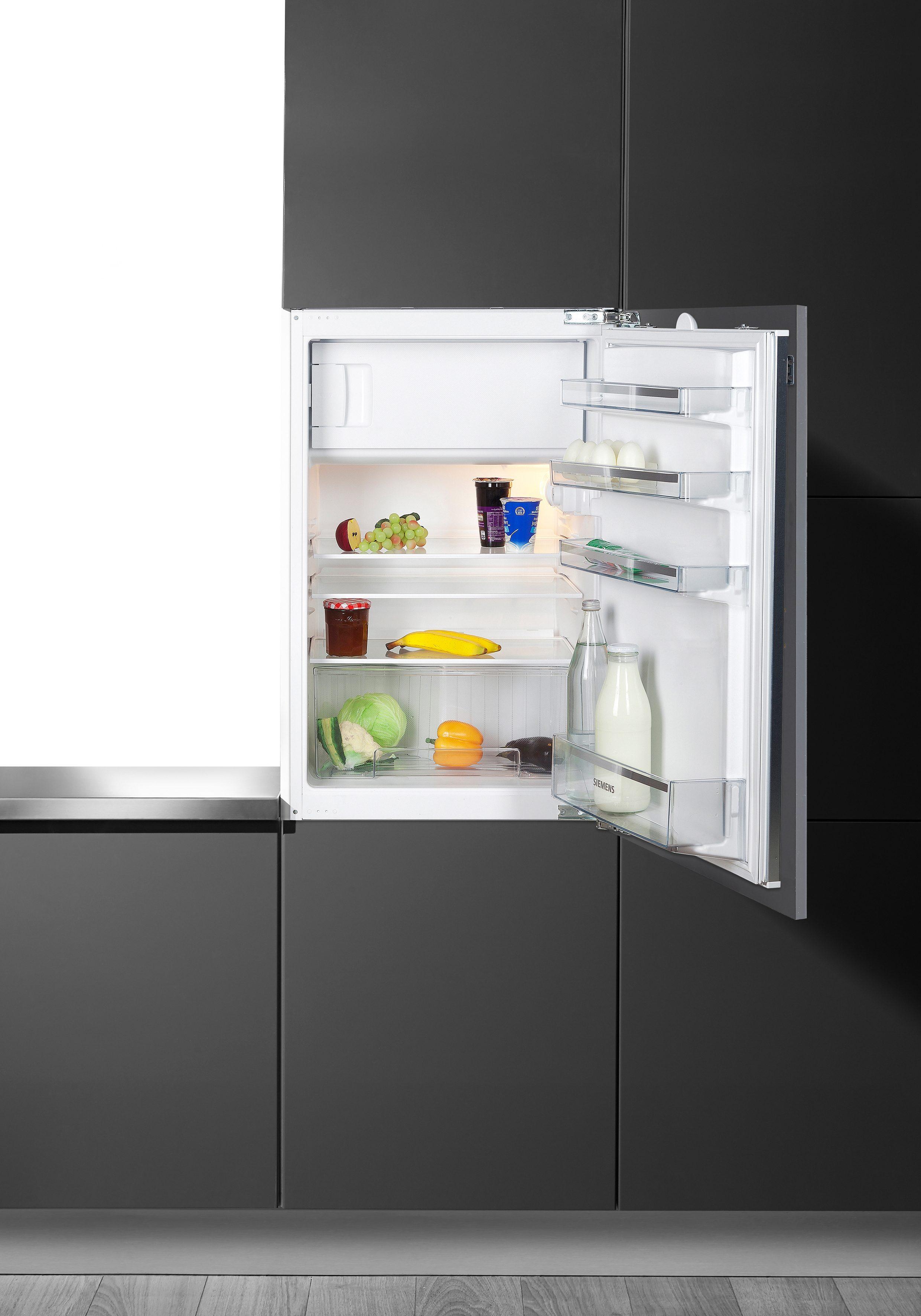 """Siemens """"111 Jahre Siemens"""" Integrierbarer Einbau-Kühlschrank KI18LV60, A++, 87,4 cm, für 88er Nische"""