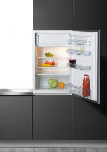 GORENJE Einbaukühlschrank RBI 4091 AW, 87,5 cm hoch, 54 cm breit, A+, für 88er Nische, integrierbar