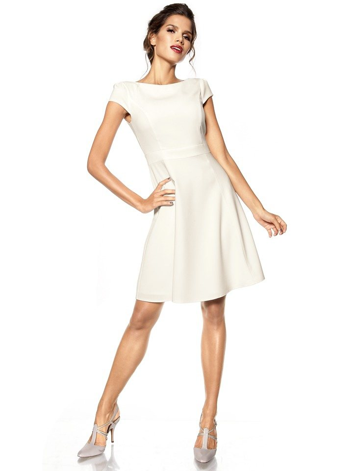 Cocktailkleid in creme