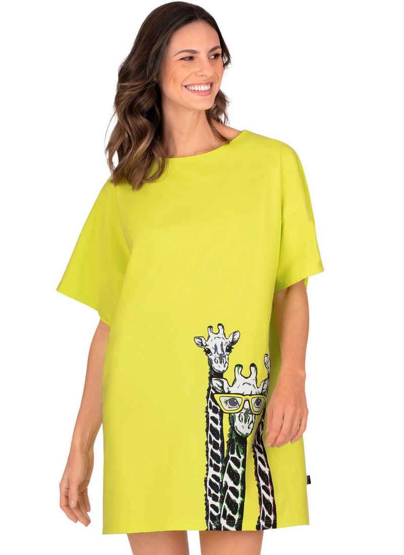 Trigema Bigshirt mit großem Druckmotiv