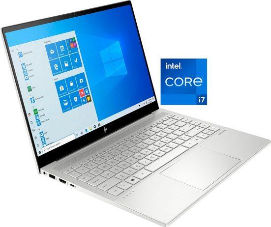 HP ENVY 14-eb0276ng Notebook (35,6 cm/14 Zoll, Intel Core i7, GeForce GTX 1650 Ti, 1000 GB SSD, Kostenloses Upgrade auf Windows 11, sobald verfügbar)