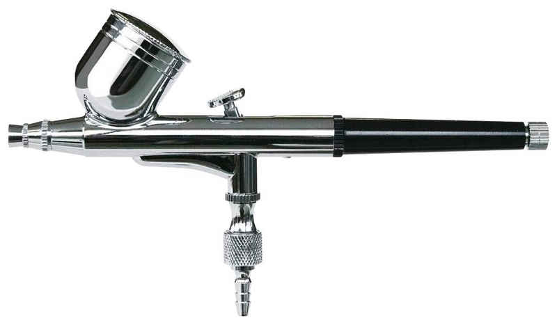 ROWI Airbrush-Kompressor »Double Action 45/3/1«, (Set), Spritzpistole, max. 3,5 bar