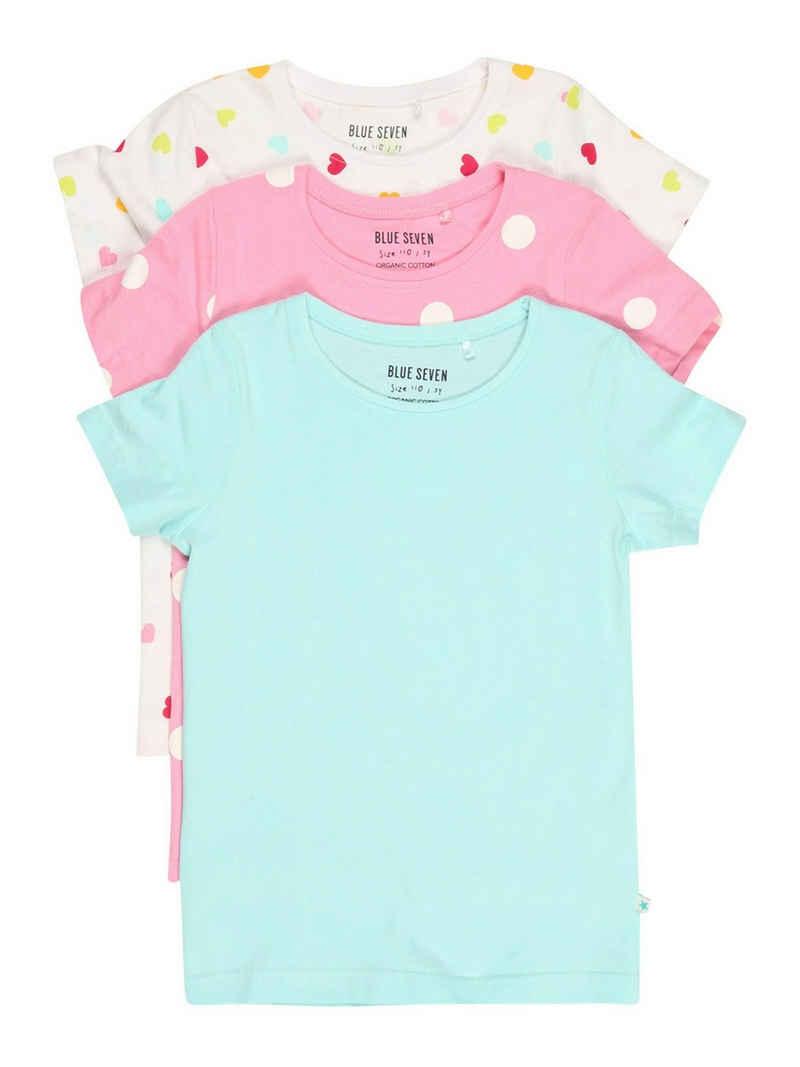 Blue Seven T-Shirt (3-tlg)