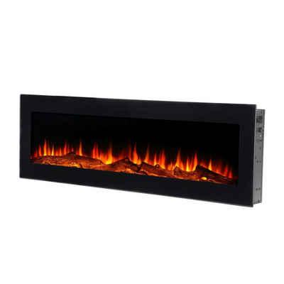 El Fuego Außenwandkamin »MERAN«, Sicherheitsglas