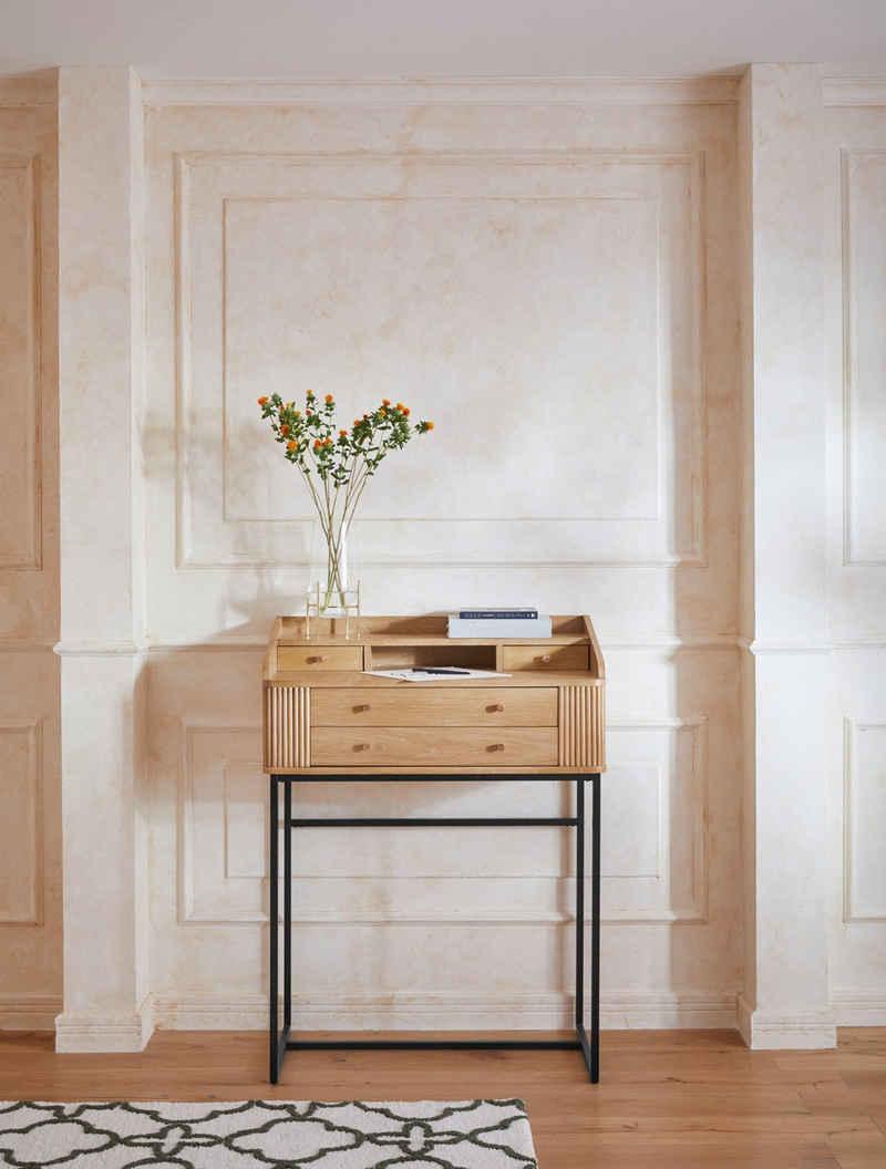 Guido Maria Kretschmer Home&Living Stehpult »Sinca«, 1,8 cm starke Tischplatte, Pflegeleicht, Breite 119 cm