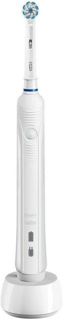 Oral B Elektrische Zahnbürste PRO 1 200, Aufsteckbürsten 1 St.