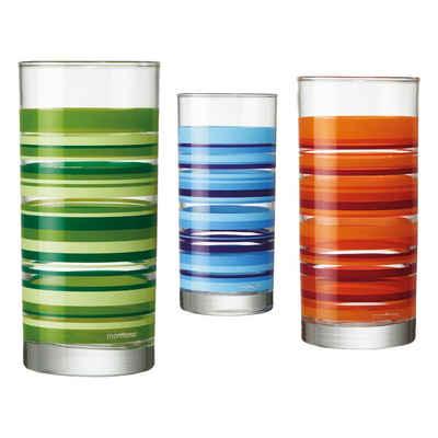 montana-Glas Gläser-Set »boogie 3er Set 280 ml«, Glas
