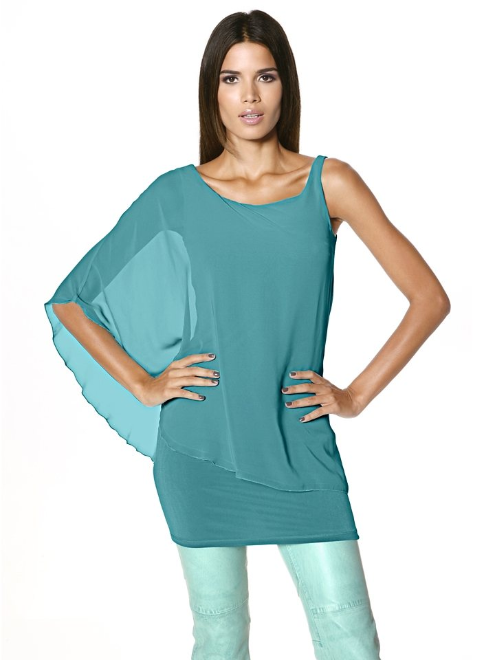 Shirtbluse in mint