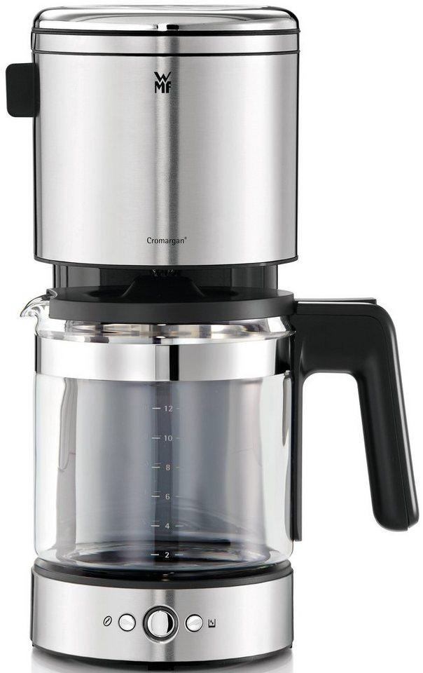 WMF Kaffeemaschine Lono Glas, 40 cm Höhe, 20,3 cm Breite in silberfarben