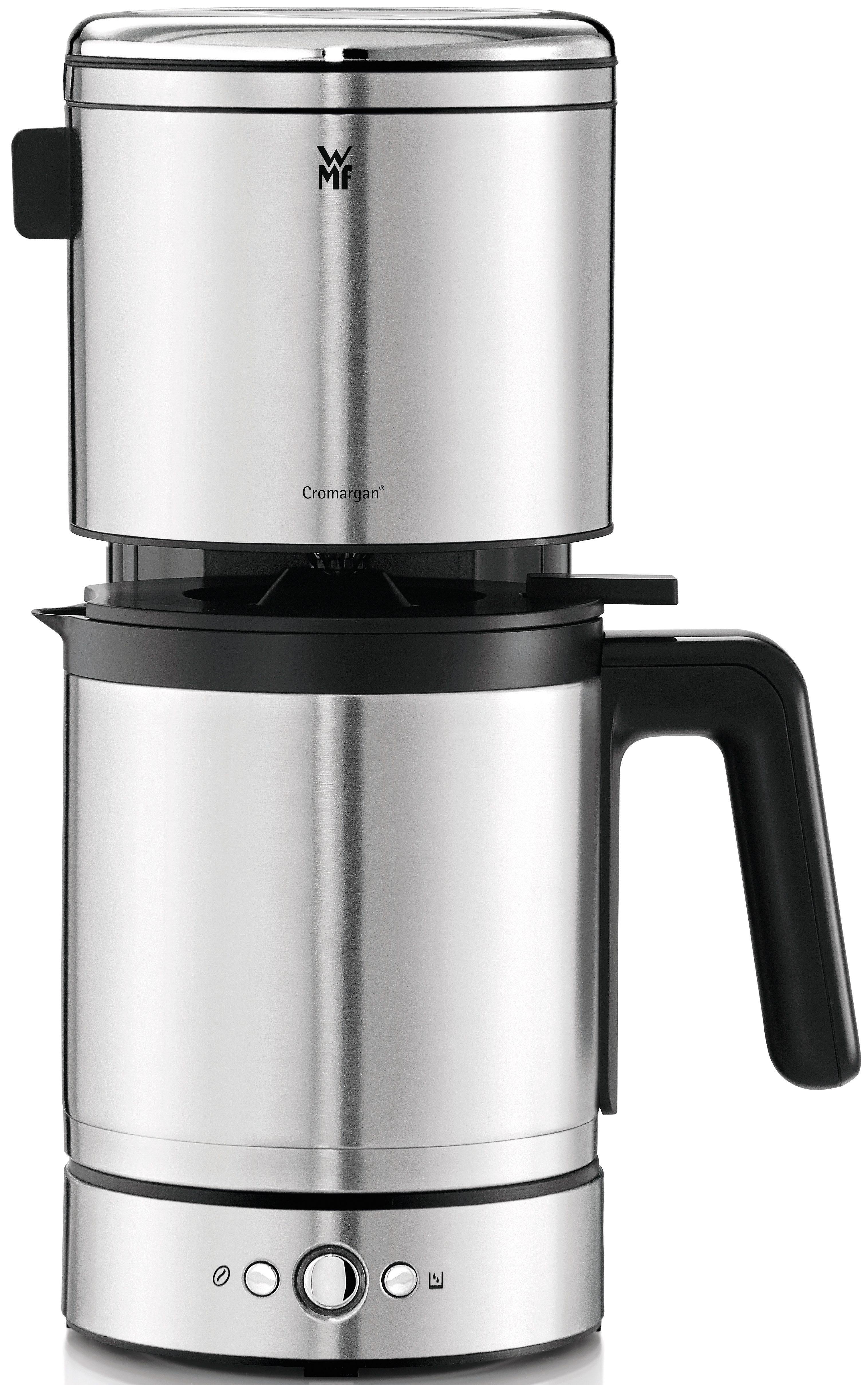 WMF Filterkaffeemaschine LONO, 1,25l Kaffeekanne, Papierfilter, mit Thermokanne