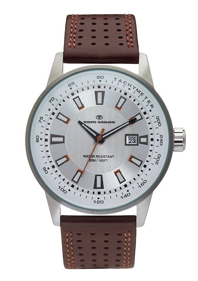 Tom Tailor Quarzuhr »5411503« in braun