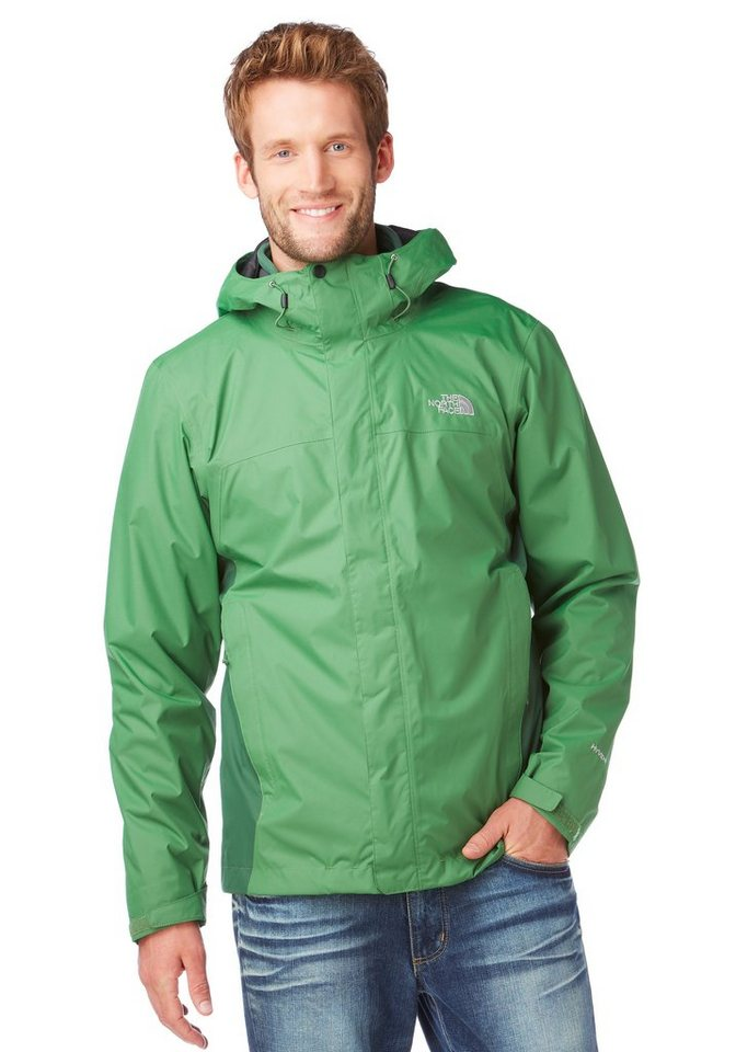The North Face 3-in-1-Funktionsjacke in Grün