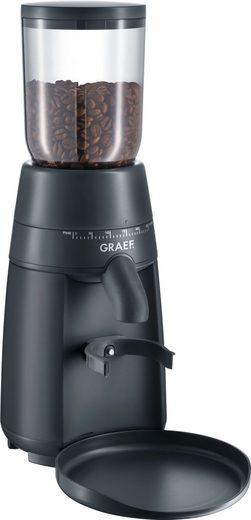 Graef Kaffeemühle CM 702, 128 W, Kegelmahlwerk, 250 g Bohnenbehälter