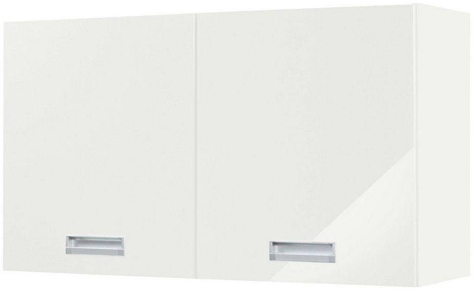 HELD MÖBEL Küchenhängeschrank Fulda Breite 100 cm Mit einem verstellbaren Einlegeboden
