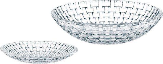 Nachtmann Salatschüssel »Bossa Nova«, Glas, (Set, 5-tlg), Kristallglas