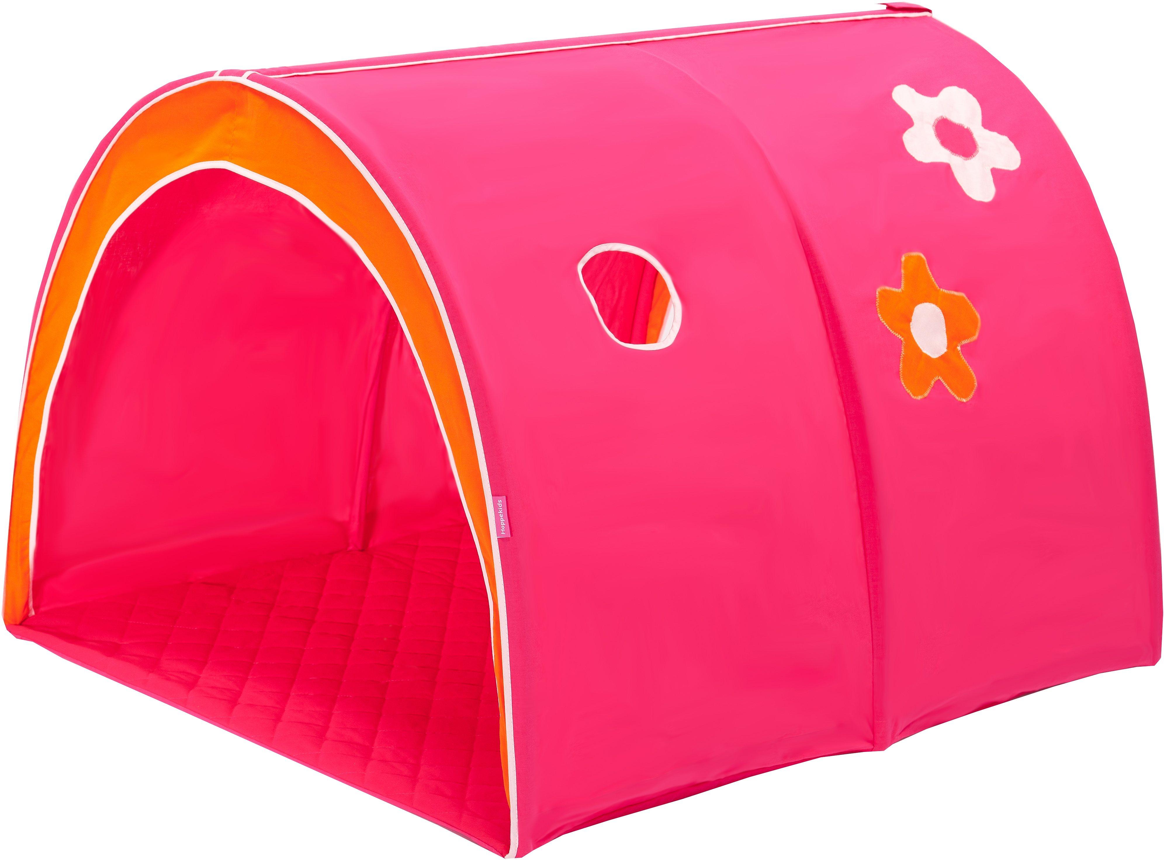 Hoppekids Tunnel »Flowerpower«   Kinderzimmer > Kinderbetten > Baldachine & Tunnels   Stoff   Hoppekids
