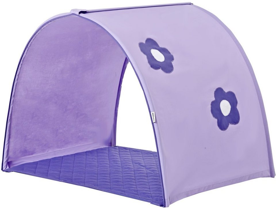 Hoppekids Tunnel »Purple Flower« in lila