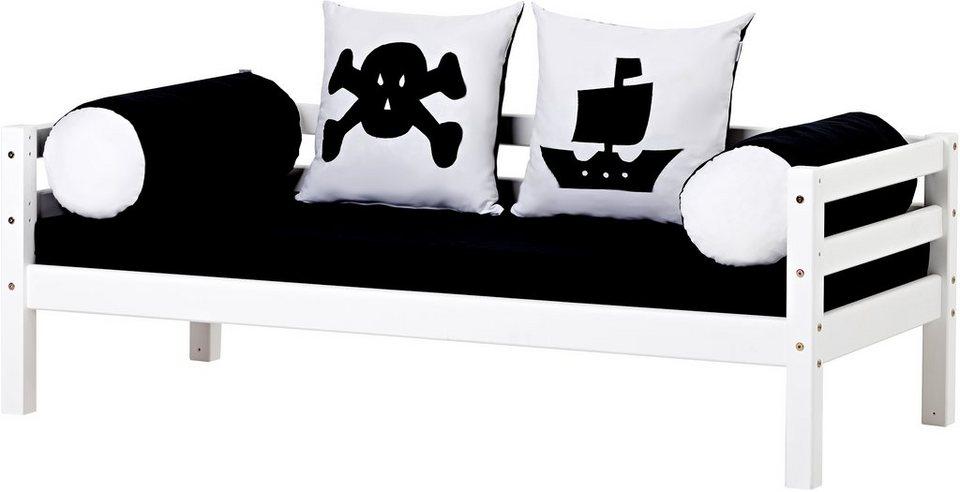 Hoppekids Sofabett »Pirat« in weiß