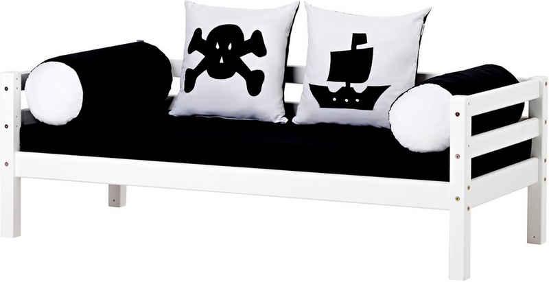 Hoppekids Piratenbett »Pirat«, inkl. Matratze und Rollrost
