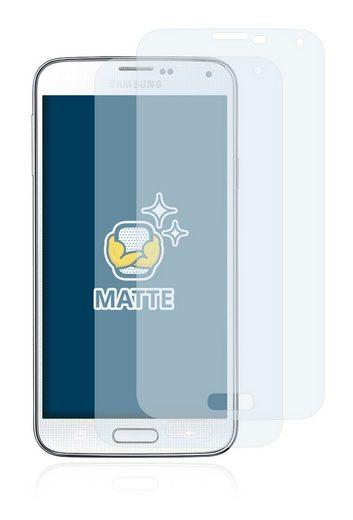 BROTECT Schutzfolie »für Samsung SM-G900R4«, (2 Stück), Folie Schutzfolie matt entspiegelt