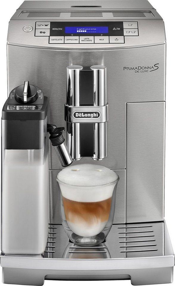 delonghi kaffeevollautomat primadonna ecam 1 8l. Black Bedroom Furniture Sets. Home Design Ideas