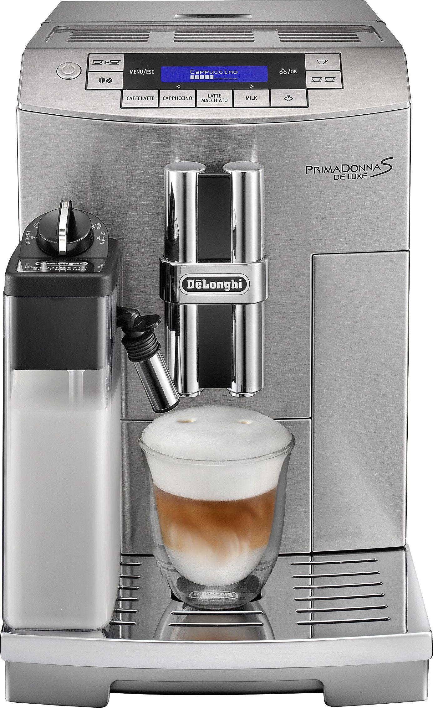 De'Longhi Kaffeevollautomat »PrimaDonna ECAM 28.466.M«, Integrierter Milchtank