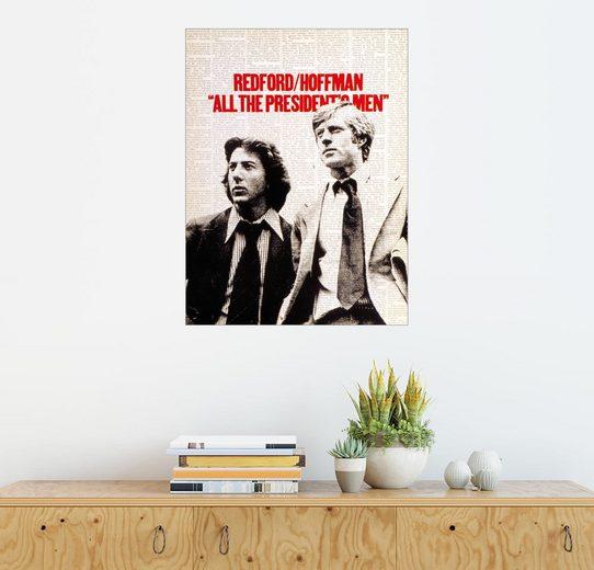 Posterlounge Wandbild, Premium-Poster Die Unbestechlichen (englisch)