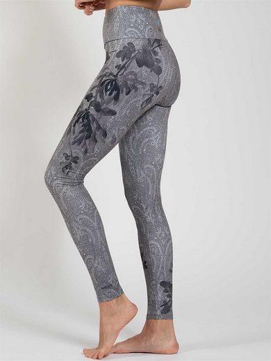 Magadi Leggings »Delicate« aus Komfort-Stretch mit Tasche