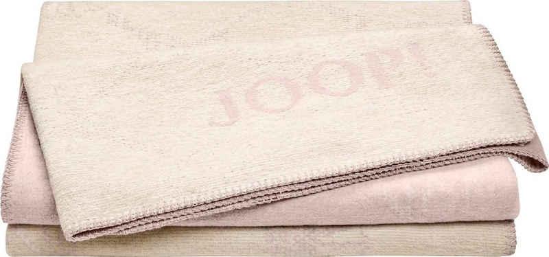 Wohndecke »JOOP! CORNFLOWER DOUBLE«, Joop!, mit elegantem Kornblumen-Verlauf