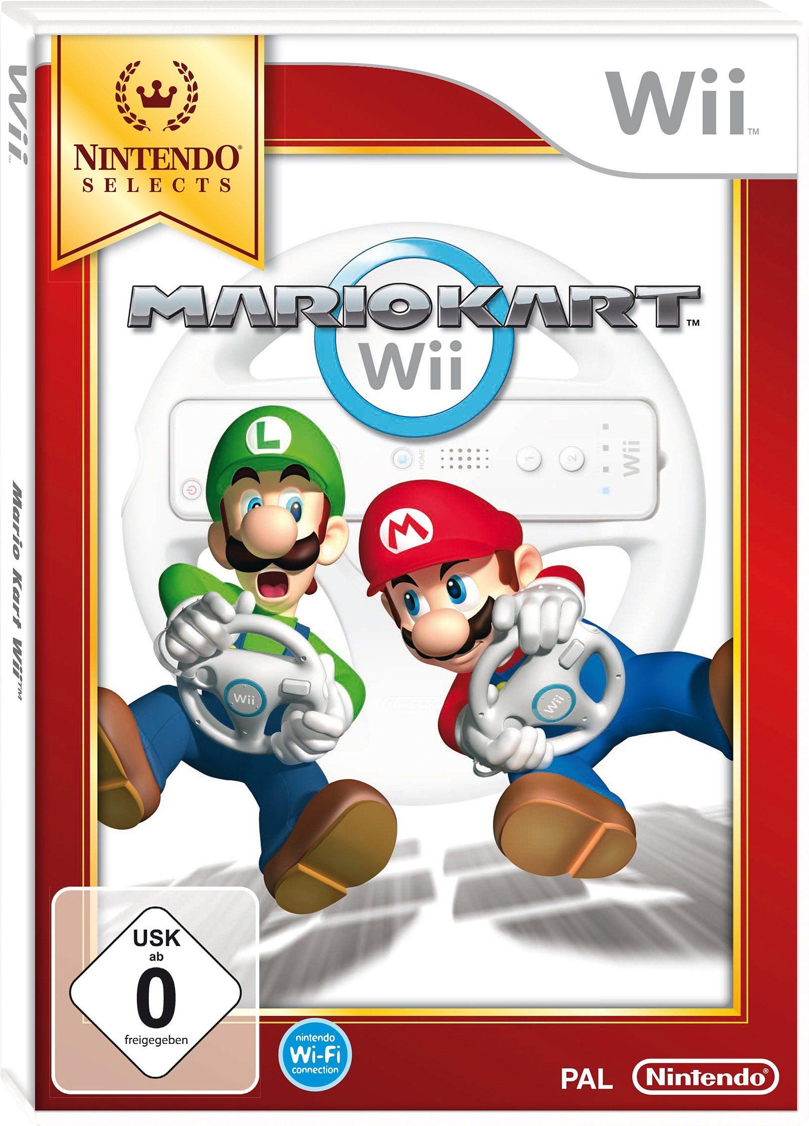 Mario Kart Nintendo Selects Wii