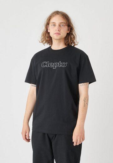 Cleptomanicx T-Shirt »See Me« mit reflektierendem Schriftzug