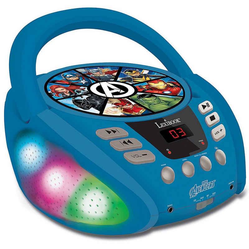 Lexibook® »Marvel Avengers - Bluetooth-CD-Player für Kinder -« CD-Player