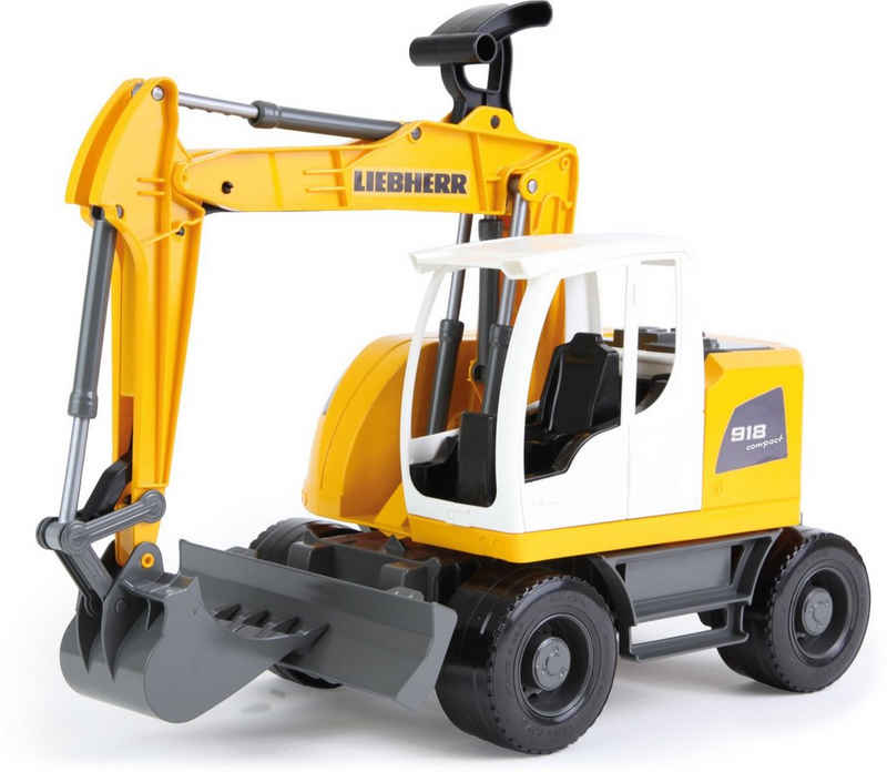 Lena® Spielzeug-Bagger »Worxx, Liebherr Compact A918 Litronic«, Made in Europe