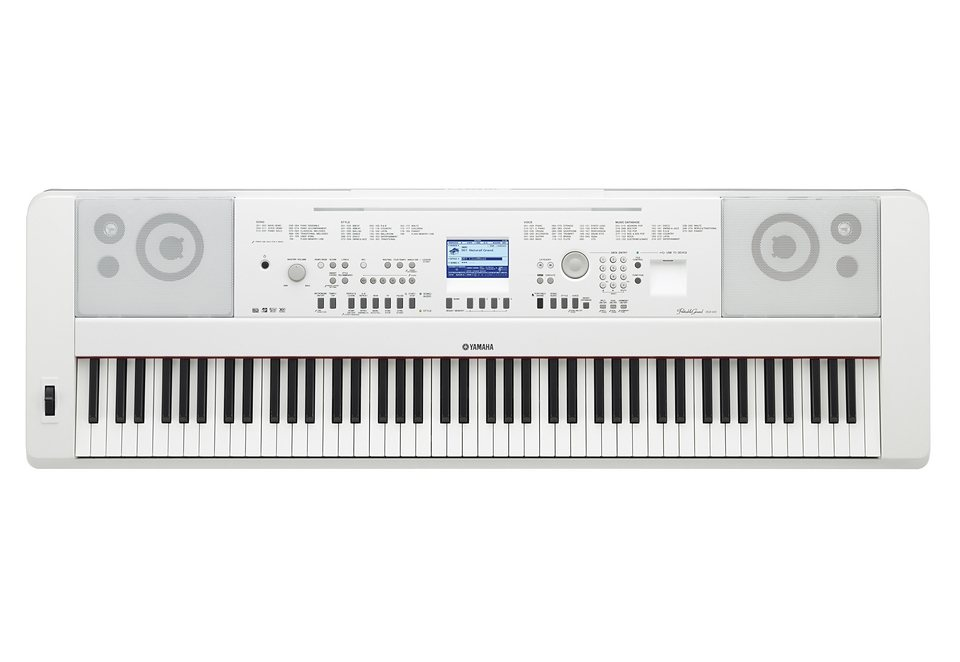 Digital-Piano Portable Grand, Yamaha®, »DGX-650WH« in weiß
