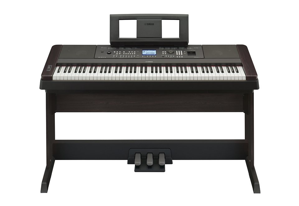 Digital-Piano Portable Grand, Yamaha®, »DGX-650B« in schwarz