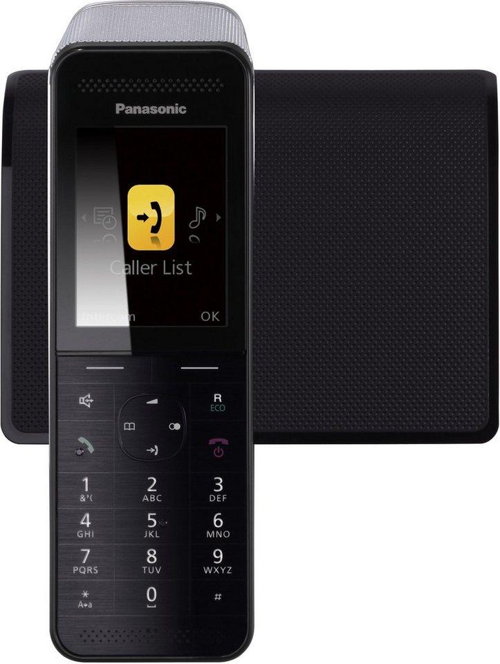 Panasonic KX-PRW120GW Schnurloses DECT Telefon mit AB in schwarz