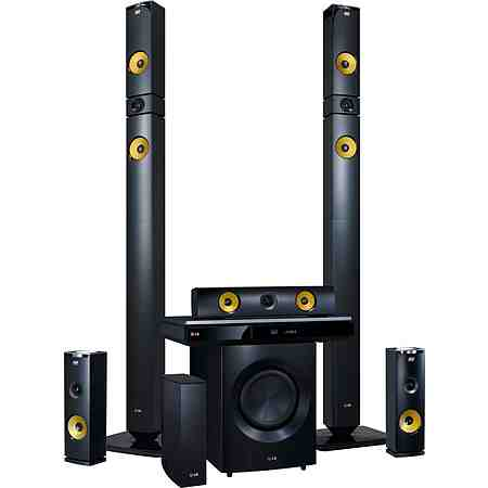 LG BH9430PW 9.1 Heimkinosystem, Blu-ray-Player, 1.460 W, 3D-fähig, WLAN, NFC, Bluetooth