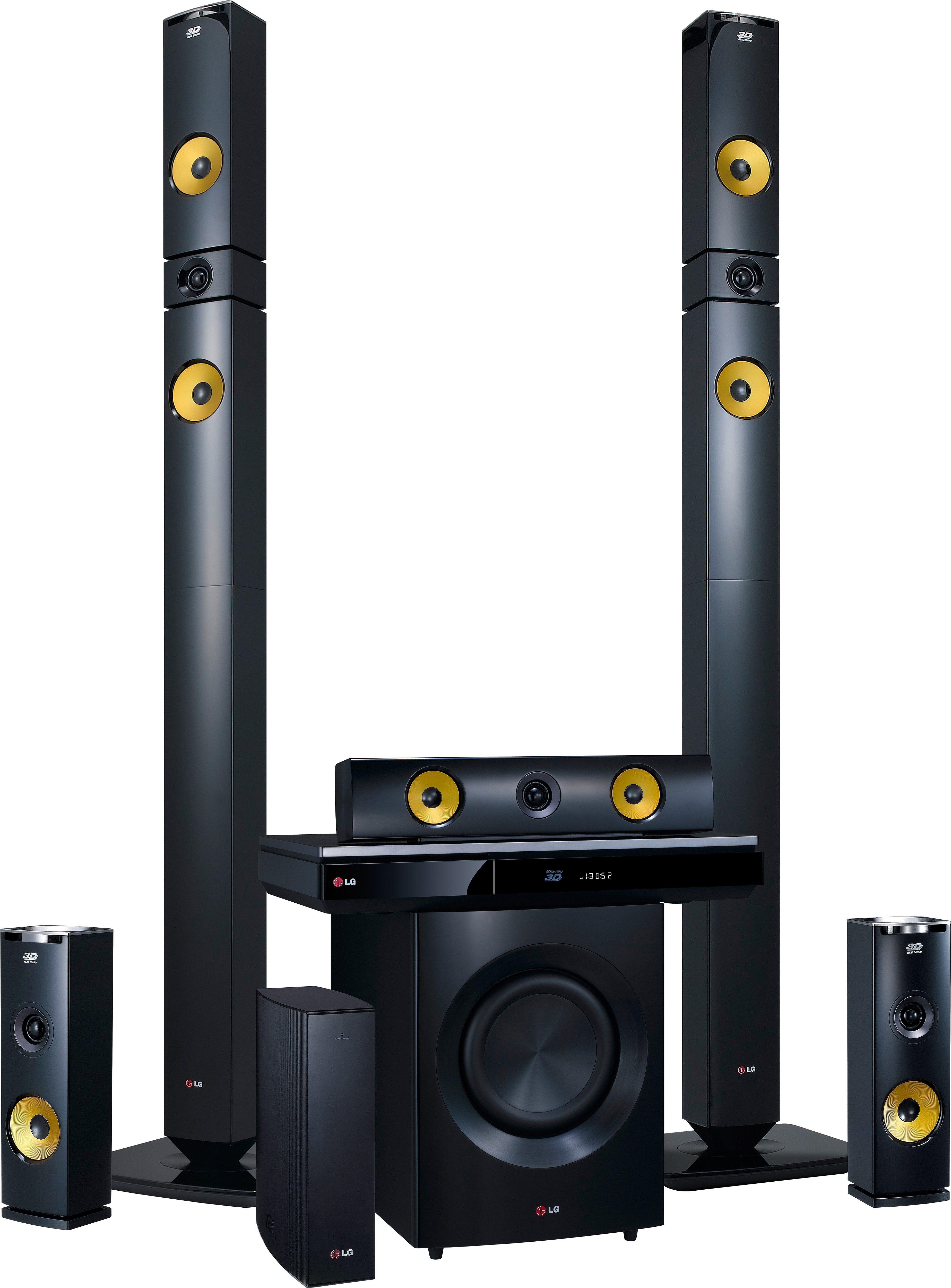 LG BH9430PW 9.1 9.1 Heimkinosystem (Blu-ray-Player, 1.460 W, WLAN, Bluetooth, NFC)