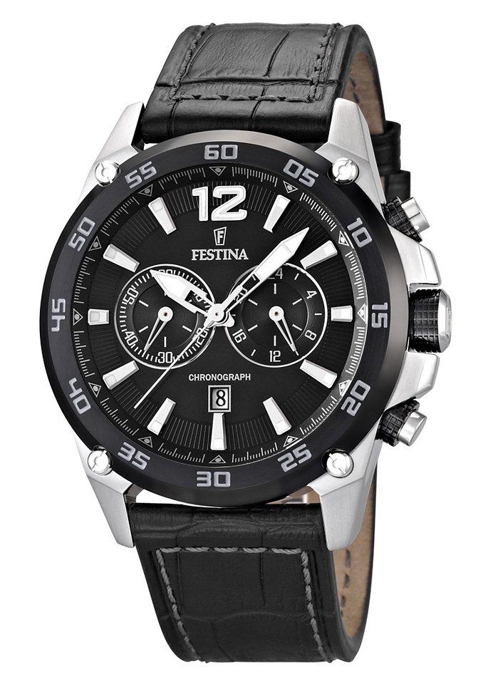 Festina Chronograph »F16673/4« in schwarz