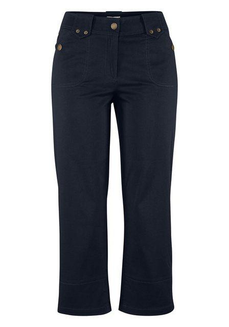 Hosen - Boysen's 3 4 Hose mit kleinen Zierriegeln › blau  - Onlineshop OTTO