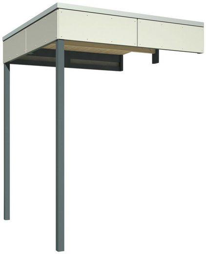 Skanholz Schleppdach »Cross Cube 2«, BxT: 168x169 cm, für Skanholz Produkte