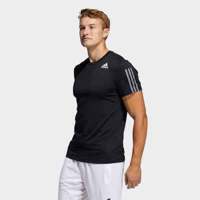 adidas Performance T-Shirt »PRIMEBLUE AEROREADY 3-STREIFEN SLIM«
