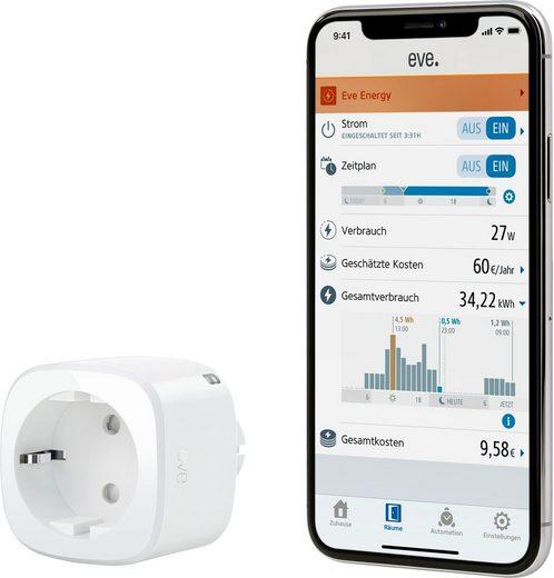 EVE »Energy Smarte Steckdose mit Verbrauchsmessung« Zwischenstecker