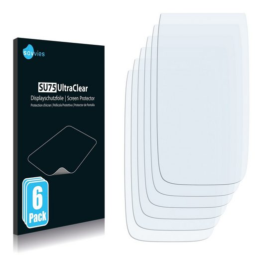 Savvies Schutzfolie »für Archos Smart Home Phone«, (6 Stück), Folie Schutzfolie klar