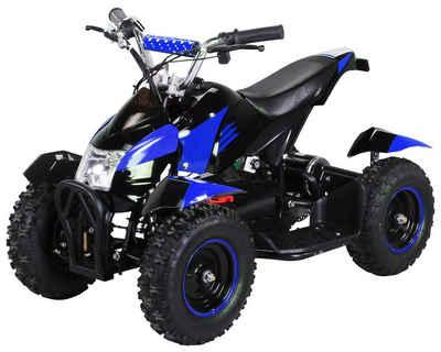 Actionbikes Motors Elektro-Kinderquad »Cobra«, Belastbarkeit 60 kg, 3 Geschwindigkeitsstufen, Starker 800 Watt Elektromotor, Gelochte Scheibenbremse vorne und hinten
