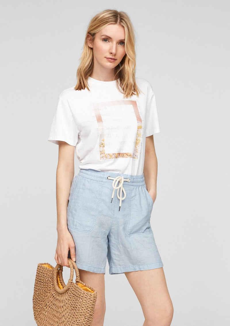 s.Oliver Shorts »Regular Fit: Shorts aus Leinen« (1-tlg)